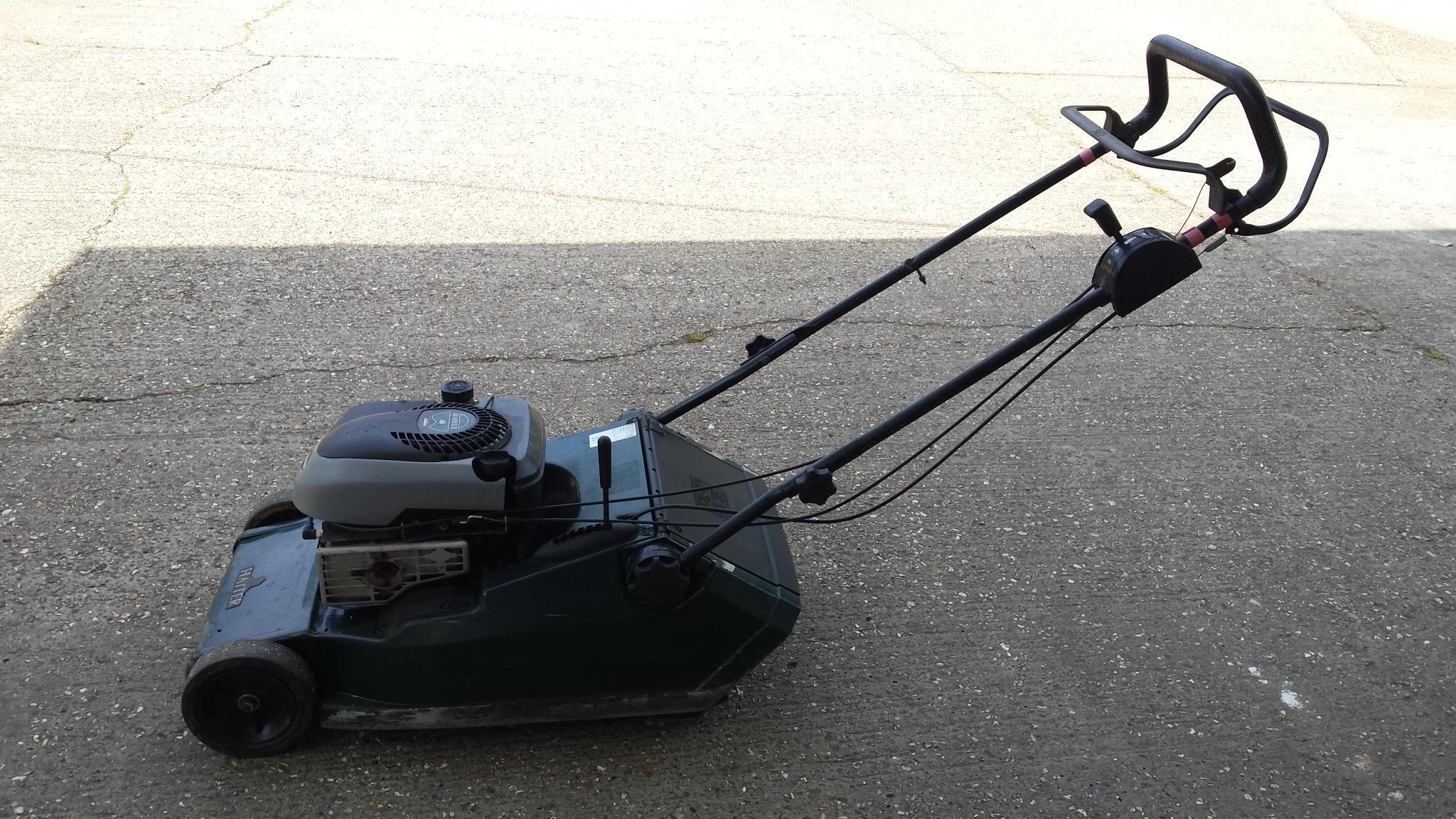 Hayter 48 self propelled mower cost £700