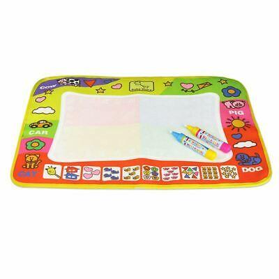 1X(Doodle Mat Magic Pen Children Drawing Toys Educational