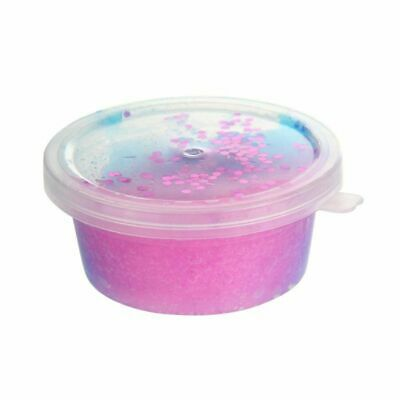 3X(Colorful Mixing Cotton Slime Stress Relief Clay Toy for