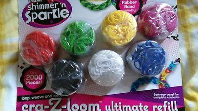 CraZArt Shimmer n Sparkle Cra-Z-Loom Ultimate Colour Craze