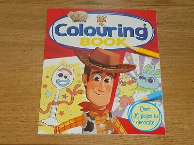 Disney Pixar - Toy Story 4 Colouring Book - BRAND NEW