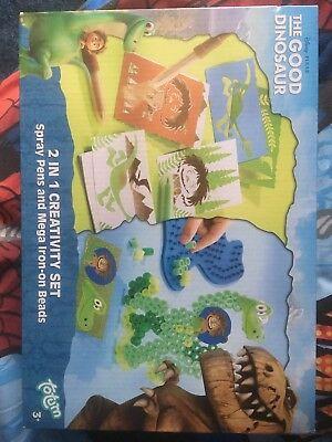 Disney The Good Dinosaur 2 In 1 Creativity Set Brand New Age