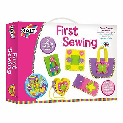 Galt Toys First Sewing Kit Multi-Coloured Set Kids Creative