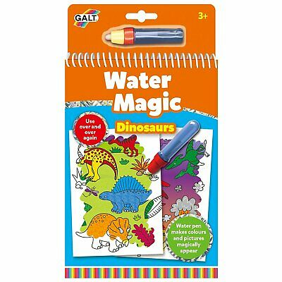 Galt Water Magic Dinosaurs, Colouring Book for Children