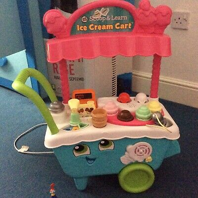 Kids Pretend Ice Cream Cart Vtech Scoop Learn Toy Ice Cream