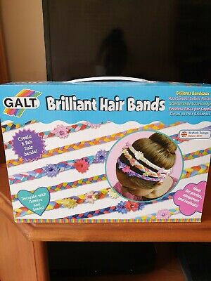 MAKE YOUR OWN Galt Toys BRILLIANT HAIR BANDS Create Crafts
