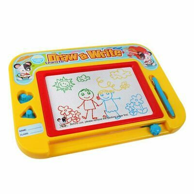 Magnetic Drawing Board for Kids & Toddlers with Stamps -