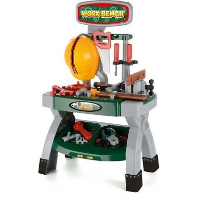 Toyrific Work Bench with Tools(Missing Hard hat)