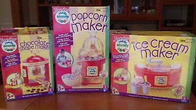 ready steady cook junior popcorn maker, ice cream maker and