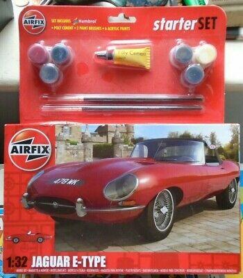 AIRFIX JAGUAR E TYPE 1/32 SCALE. kit sealed, STARTER KIT