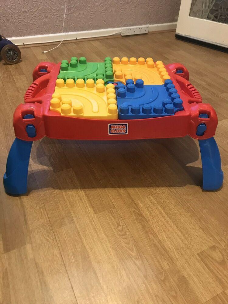 Mega Bloks Play 'n Go Table (U)