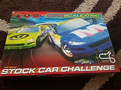 Micro Scalextric 'Stock Car Challenge' Perfect Condition