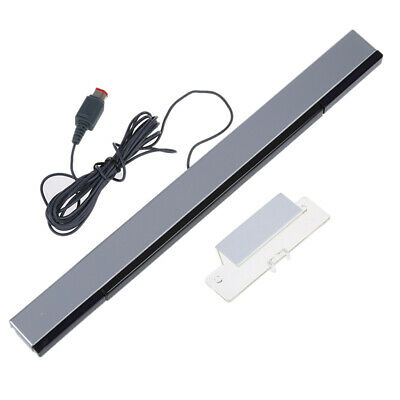 2X(HDE Wired Infrared Sensor Bar for Nintendo Wii K2V9) I23