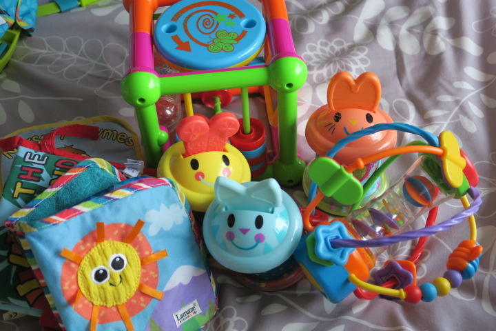 Baby Toys; Activity Cube,Play School & More