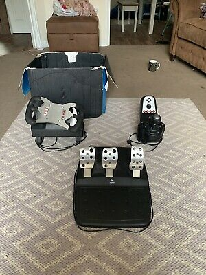 Logitech G Steering Wheel F1 Upgrade and Pedals