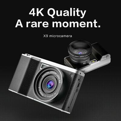 4.0-Inch 12X Optical Zoom P IPS HD Digital SLR Camera
