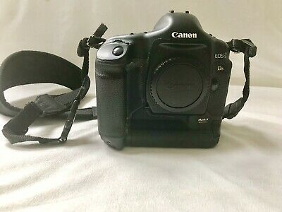 Canon EOS 1DS Mark II 16.7 MP Digital SLR Camera - Black
