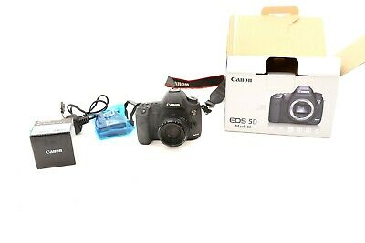 Canon EOS 5D Mark III 22.3MP Digital Camera with50mm lens