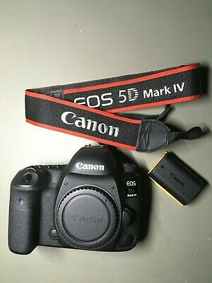 Canon EOS 5D Mark IV 30.4MP Digital SLR Camera - Black (Body