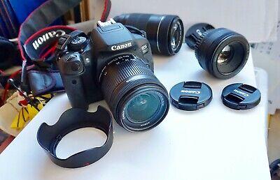 Canon EOS 700D 18.0MP Digital SLR Camera - Black with