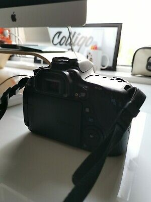 Canon EOS 80d DSLR Camera (Body Only) - Black