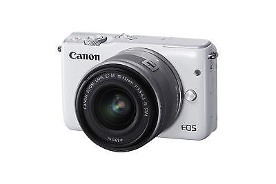 Canon EOS MMP Digital Camera - White (Kit w/ EF-M