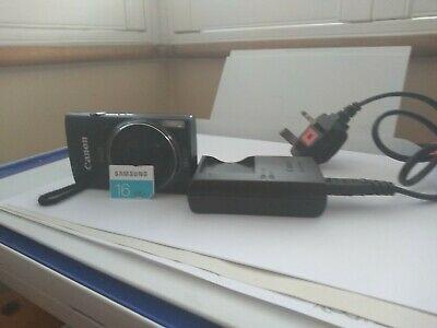 Canon IXUS 155 Black Compact Digital Camera - 20MP - 10x