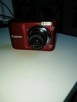 Canon PowerShot AMP Digital Camera - Black