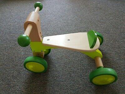 E HAPE Wooden Scoot-Around Bike Push & Pull Baby Toddler