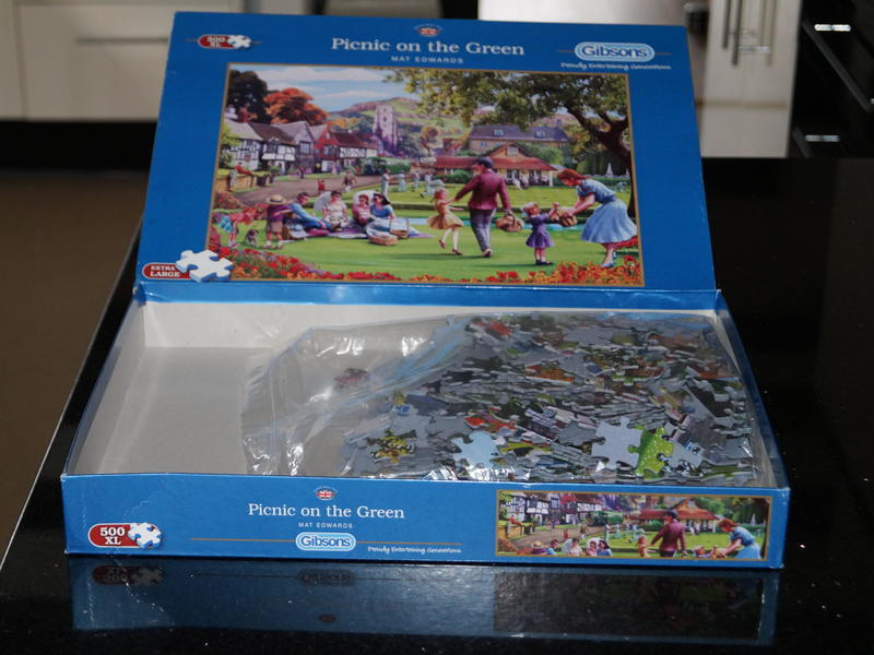 For Sale 500 XL large pieces Jigsaw Puzzle by Gibson