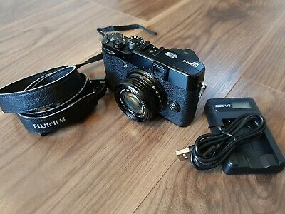 Fujifilm FinePix X Series XMP Digital Camera - Black