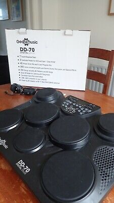 Gear4music DD70 Portable Electric Drum Pad Pack