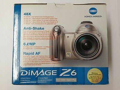 Konica Minolta DiMAGE Z6 6.0MP Digital Camera - Silver (Kit