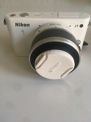 Nikon 1 J1 Digital Camera with mm Nikkor Lens.