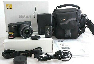 Nikon 1 JMP Digital Camera BLACK (Kit w/ VR mm
