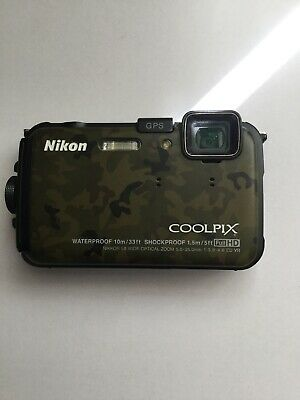 Nikon Coolpix AW100 (Digital Compact Camera) Camouflage