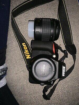 Nikon D DMP Digital SLR Camera - Black (Kit w/ AF-S