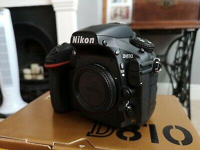 Nikon D810 Body Only - Black