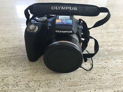Olympus SP-590UZ Compact Digital Camera (12MP, 26x Wide