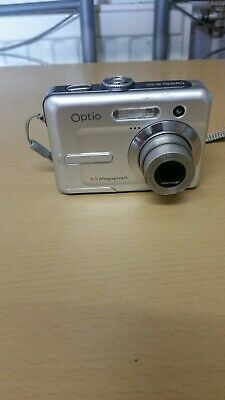 PENTAX OPTIO E20 DIGITAL CAMERA 6.0 MEGAPIXELS - SILVER