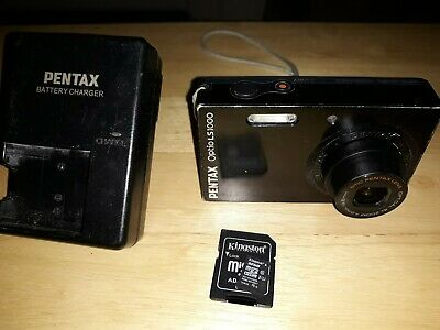 Pentax Optio LSMP Digital Camera - Black