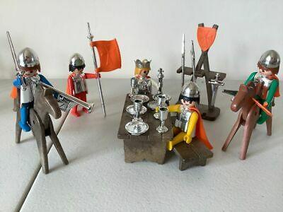 Playmobil Knights King  Vintage Super Set Marx Toys