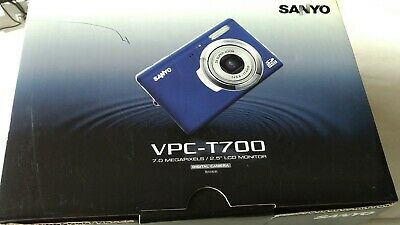 SANYO Sanyo VPC TMP Digital Camera -BLUE