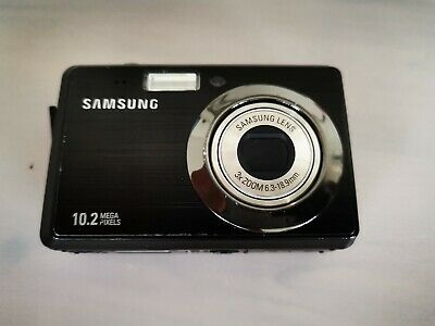 Samsung ES Series ESMP Digital Camera - Black with