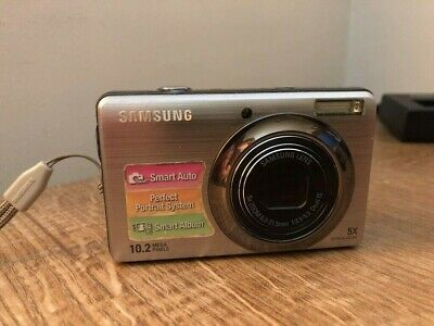 Samsung PL Series PLMP Digital Camera - Silver plus