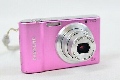 Samsung ST Series STMP Digital Camera - Pink