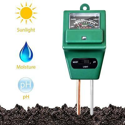 Soil Test kits Gardening,3 in 1 Soil Moisture/Ph Sunlight