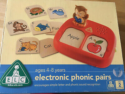 Early Learning Centre electronic phonic pairs, not working,