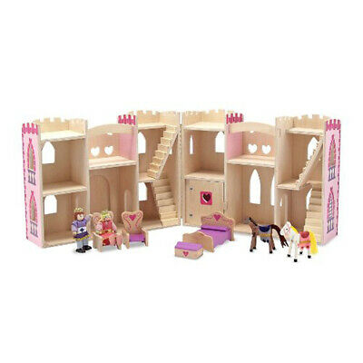 Melissa & Doug Fold and Go Princess Castle
