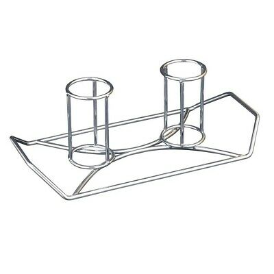 NEW Camp Chef Twins Beer Can Chicken Holder durable steel